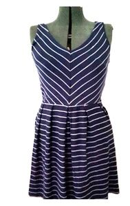 Tart blue striped dress